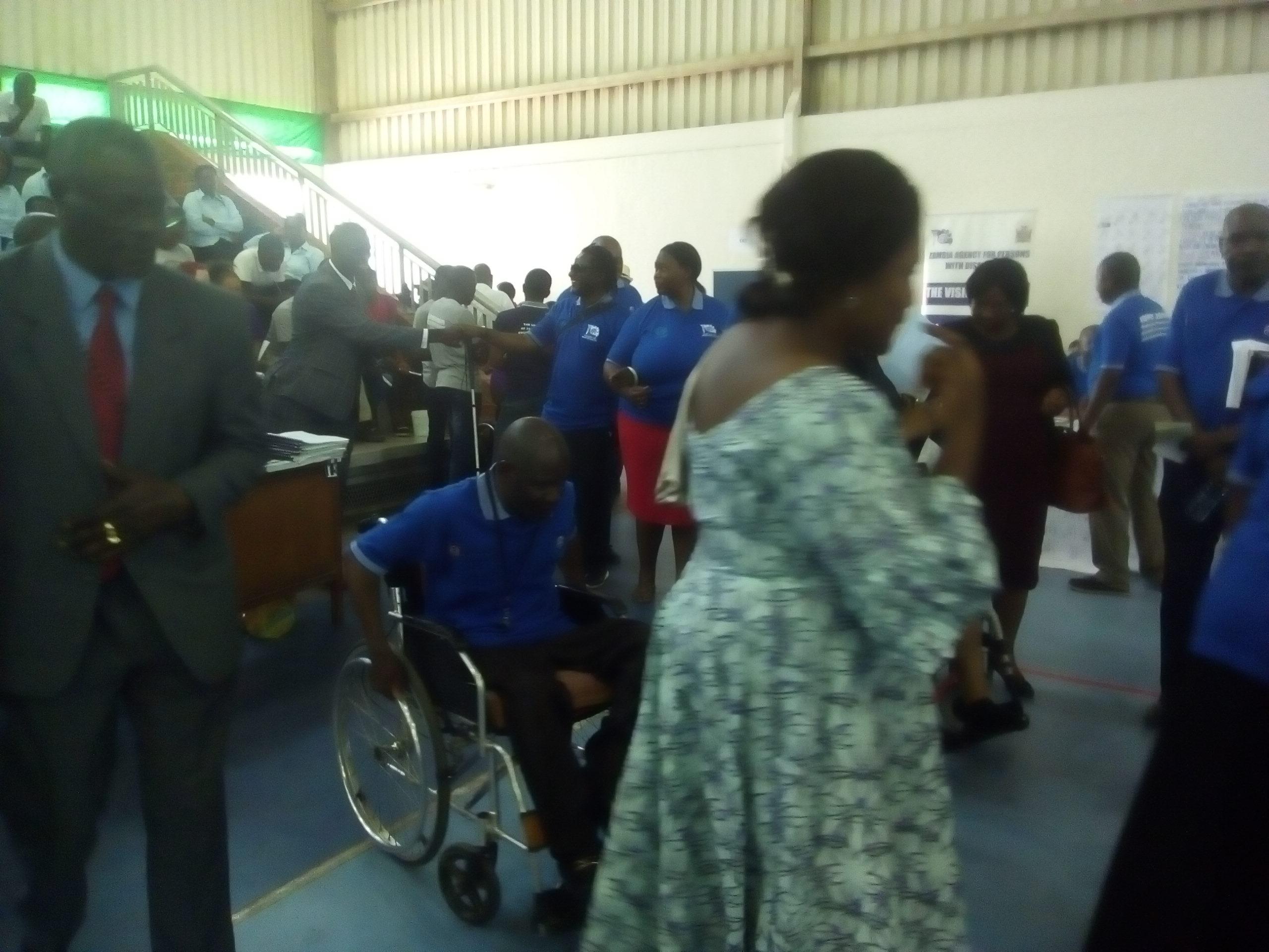 Hon. Olipa Phiri, MP Minister - Minstry of Community Development & Social services